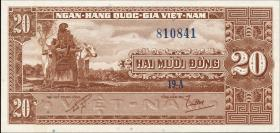 Südvietnam / Viet Nam South P.006a 20 Dong (1962) (1)
