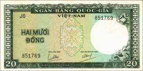 Südvietnam / Viet Nam South P.016 20 Dong (1964) (1)