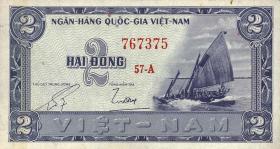 Südvietnam / Viet Nam South P.012 2 Dong (1955) (1)