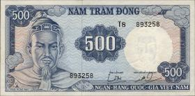 Südvietnam / Viet Nam South P.023a 500 Dong (1966) (1)