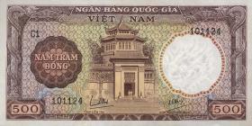 Südvietnam / Viet Nam South P.022 500 Dong (1964) (1)