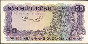 Südvietnam / Viet Nam South P.017 50 Dong (1966) (1)