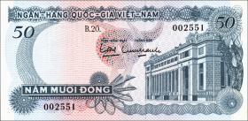 Südvietnam / Viet Nam South P.025 50 Dong (1969) (1)