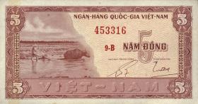 Südvietnam / Viet Nam South P.013 5 Dong (1955) (1)