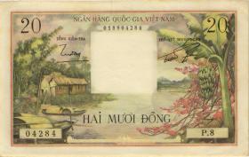 Südvietnam / Viet Nam South P.04 20 Dong (1956) (1/1-)