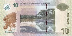 Surinam / Suriname P.163 10 Dollar (2010) (1)