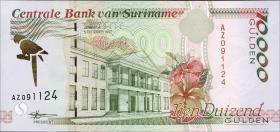 Surinam / Suriname P.144 10000 Gulden 1997 (1)
