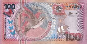 Surinam / Suriname P.149 100 Gulden 2000 (1)