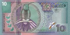 Surinam / Suriname P.147 10 Gulden 2000 (1)