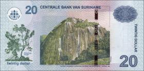 Surinam / Suriname P.164 20 Dollar (2010) (1)