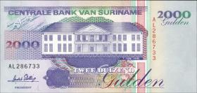 Surinam / Suriname P.142 2000 Gulden 1995 (1)