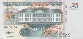 Surinam / Suriname P.138d 25 Gulden 1998 (1)