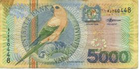 Surinam / Suriname P.152 5000 Gulden 2000 (3)