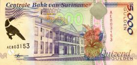 Surinam / Suriname P.143b 5000 Gulden 1999 (1)