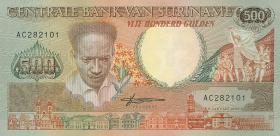 Surinam / Suriname P.135b 500 Gulden 1988 (1)