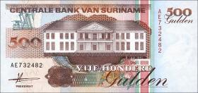Surinam / Suriname P.140 500 Gulden 1991 (1)