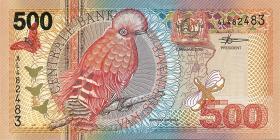 Surinam / Suriname P.150 500 Gulden 2000 (1)