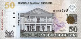 Surinam / Suriname P.160 50 Dollars 2004 (1)