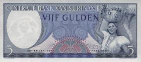 Surinam / Suriname P.120 5 Gulden 1963 (1)