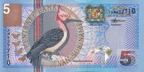 Surinam / Suriname P.146 5 Gulden 2000 (1)