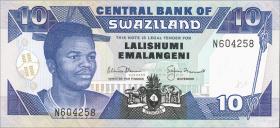 Swasiland / Swaziland P.20b 10 Emalangeni (1992) (1)