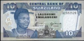 Swasiland / Swaziland P.24a 10 Emalangeni (1995) (1)