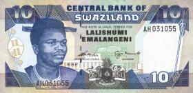 Swasiland / Swaziland P.24b 10 Emalangeni 1997 (1)