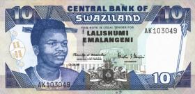 Swasiland / Swaziland P.24c 10 Emalangeni 1998 (1)