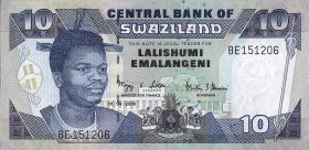 Swasiland / Swaziland P.29c 10 Emalangeni 2006 (1)