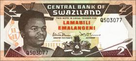 Swasiland / Swaziland P.18a 2 Emalangeni (1992) (1)