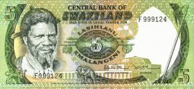 Swasiland / Swaziland P.09b 5 Emalangeni (1984) (1)