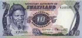 Swasiland / Swaziland P.04 10 Emalangeni (1974) (1)