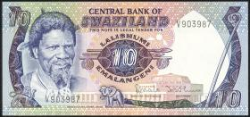 Swasiland / Swaziland P.10b 10 Emalangeni (1984) (1)