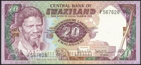 Swasiland / Swaziland P.11a 20 Emalangeni (1984) (1)