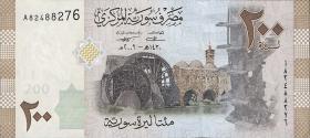 Syrien / Syria P.114 200 Pounds 2009 (1)