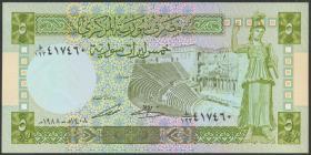 Syrien / Syria P.100d 5 Pounds 1988 (1)