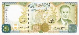Syrien / Syria P.111a 1000 Pounds 1997 (1)