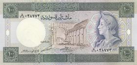 Syrien / Syria P.104d 100 Pounds 1990 (1)
