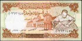 Syrien / Syria P.099 1 Pound 1977 (2)