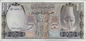 Syrien / Syria P.105f 500 Pounds 1992 (1)