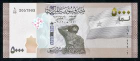 Syrien / Syria P.Neu 5000 Pounds 2019 (1)