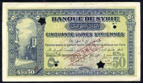 Syrien / Syria P.009s 50 Livres 1920 (2)