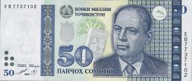 Tadschikistan / Tajikistan P.18 50 Somoni 1999 (2000) (1)