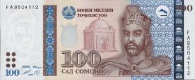 Tadschikistan / Tajikistan P.19 100 Somoni 1999 (2000) (1)