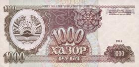 Tadschikistan / Tajikistan P.09 1000 Rubel 1994 (1)