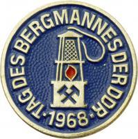 Tag des Bergmanns der DDR 1968