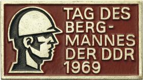 Tag des Bergmanns der DDR 1969