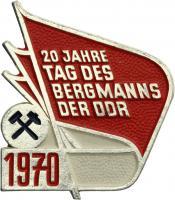 Tag des Bergmanns der DDR 1970