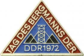 Tag des Bergmanns der DDR 1972