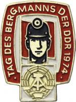 Tag des Bergmanns der DDR 1974